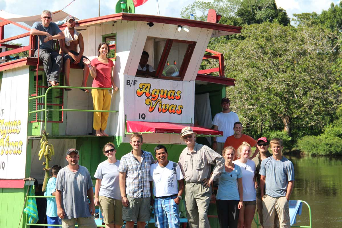 mission-trip-group-boat-amazon-river
